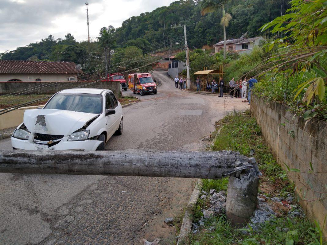 Acidente rua Sorocaba