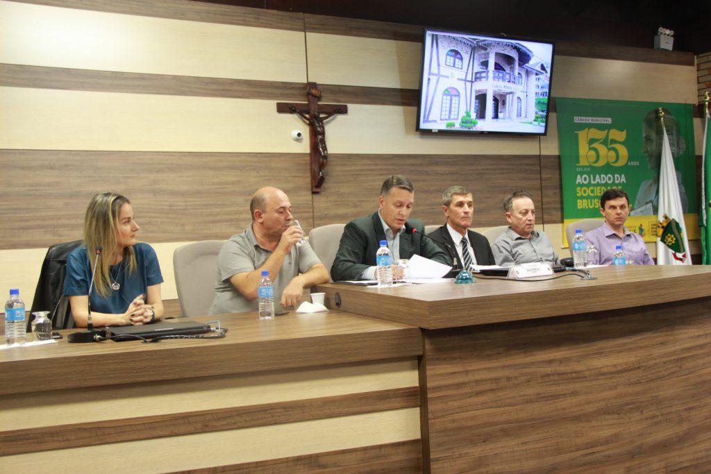 Clima pressão e propostas marca audiência pública da Rodovia Antônio Heil – SC 486