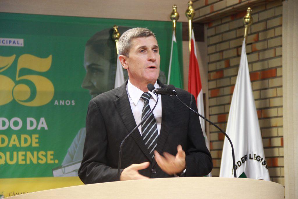 presidente do Departamento Estadual de Infraestrutura de Santa Catarina (Deinfra), coronel Carlos Hassler