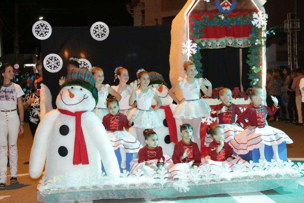 34 desfile de natal