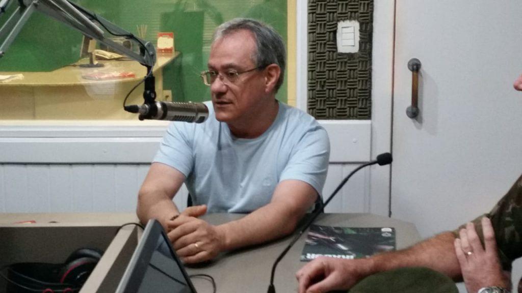 Vereador Sebastião Lima fala sobre o trabalho do Conseg no Jornal da Diplomata