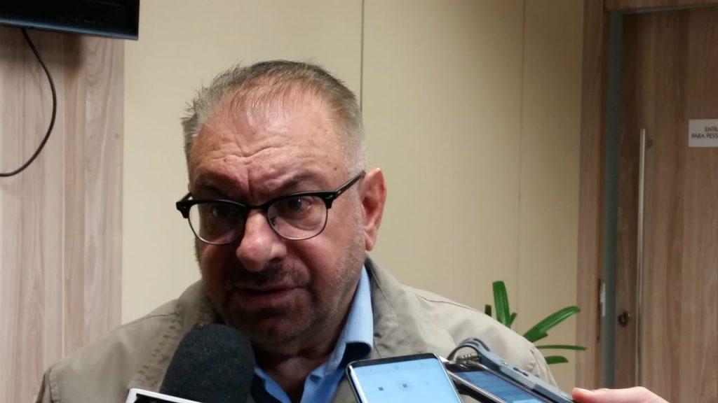 Prefeito de Itajaí, Volnei Morastoni, participou na reunião.