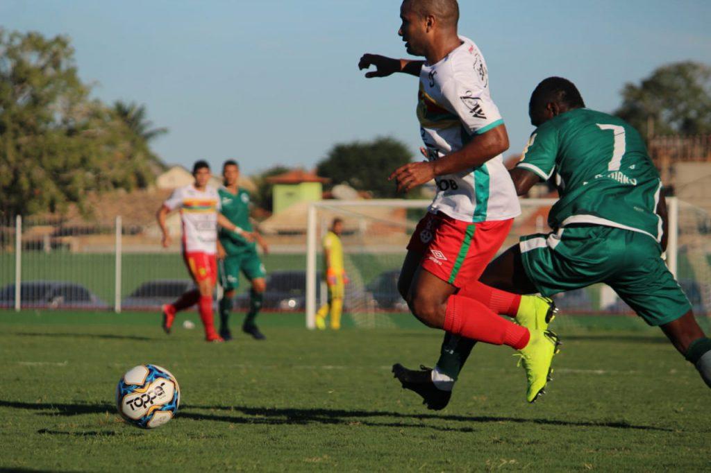 O Brusque FC ficou no empate de 1 x 1 com o Boavista neste domingo, 30 (Foto: Lucas Gabriel/BFC)