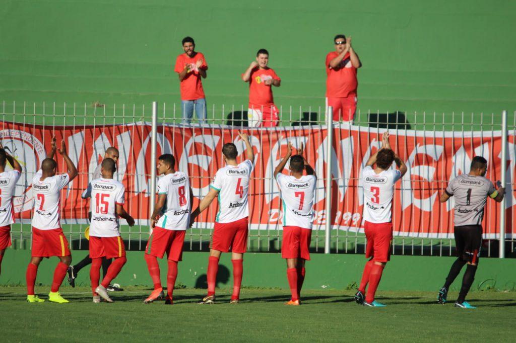 Brusque empate e decidirá vaga às quartas de final em casa, no dia 8 (Foto: Lucas Gabirel/BFC)