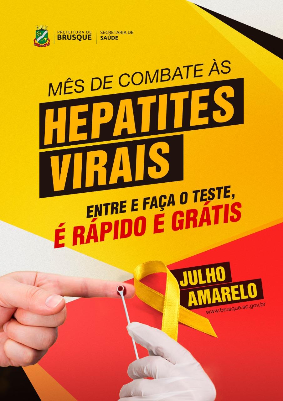 Secretaria de Saúde intensifica de combate às hepatites