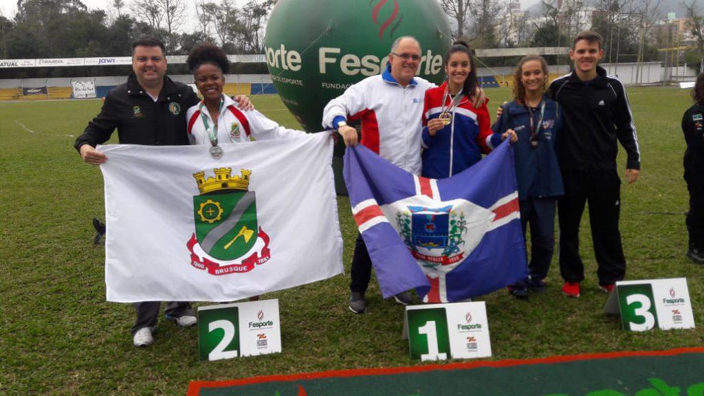 Brusque conquista 3 troféus e 22 medalhas nos Joguinhos Abertos de Santa Catarina