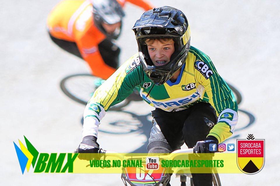 Lucas M.Z retorna entre os melhores no mundial de BMX na Bélgica