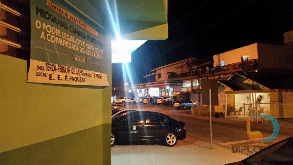 Câmara de Vereadores de Brusque realizou na Escola de Ensino Fundamental Paquetá