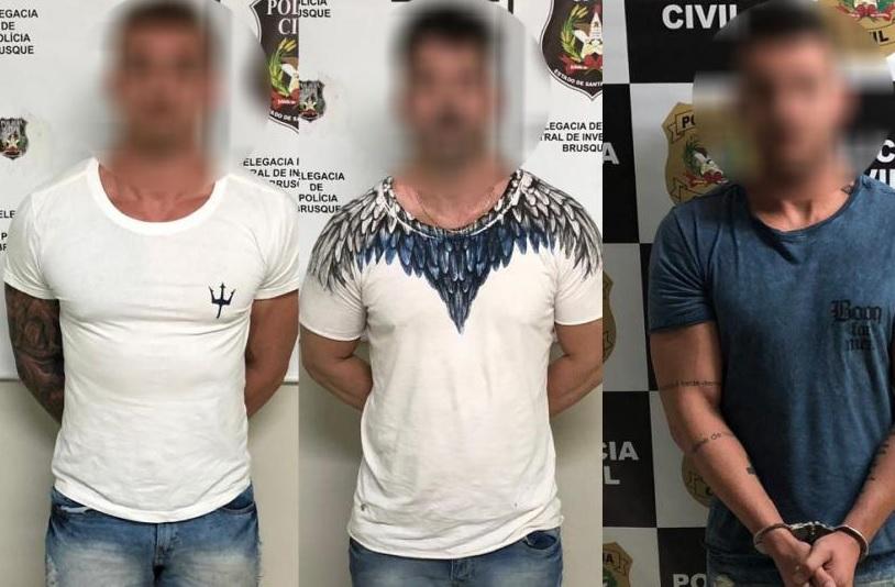 Trio preso por tráfico no Centro é condenado (Foto: Polícia Civil)