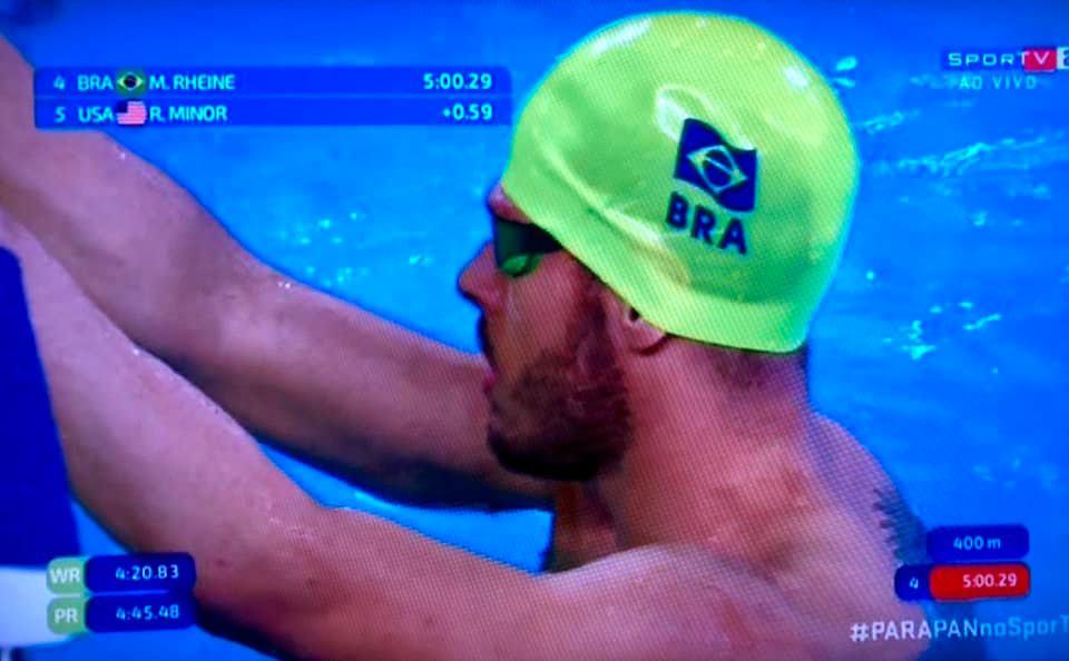 Matheus Rheine conquista ouro do bicampeonato nos Jogos Parapan