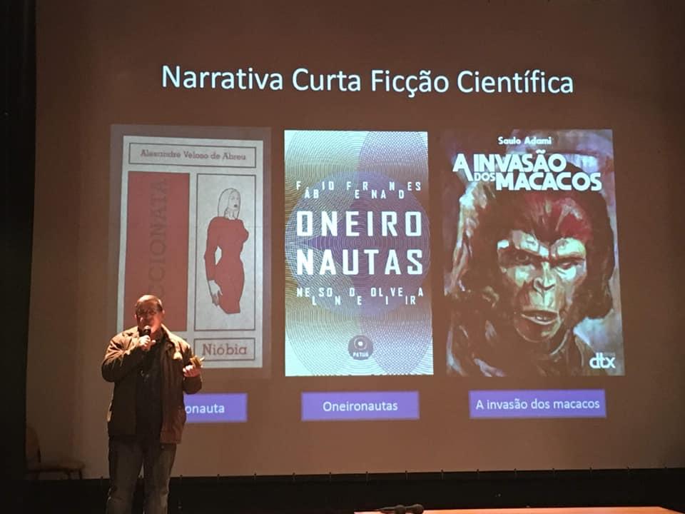 Prêmio de literatura coroa trabalho de Saulo Adami com a saga Planeta dos Macacos