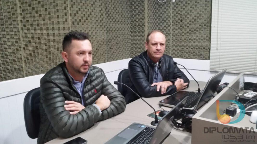 Hermes Humberto Heinig Filho (Chico) e Ricardo Geanesini