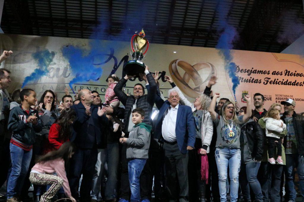 Realização da cerimônia de encerramento e festa de premiação da competição (Foto: Secom)