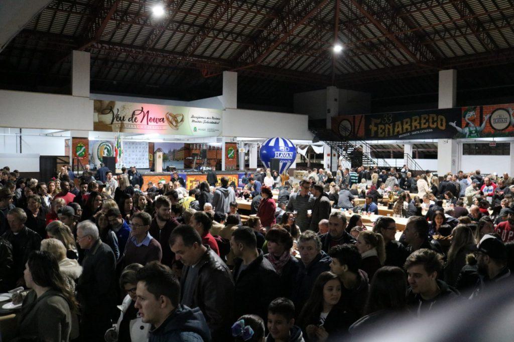 Encerramento dos Jogos Comunitários no Pavilhão de Eventos (Foto: Secom)