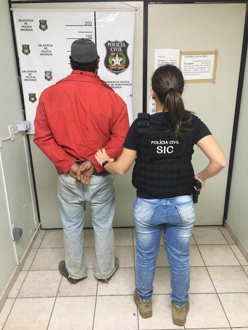 Homem condenado a 47 anos por estupro é preso no bairro Santa Luzia
