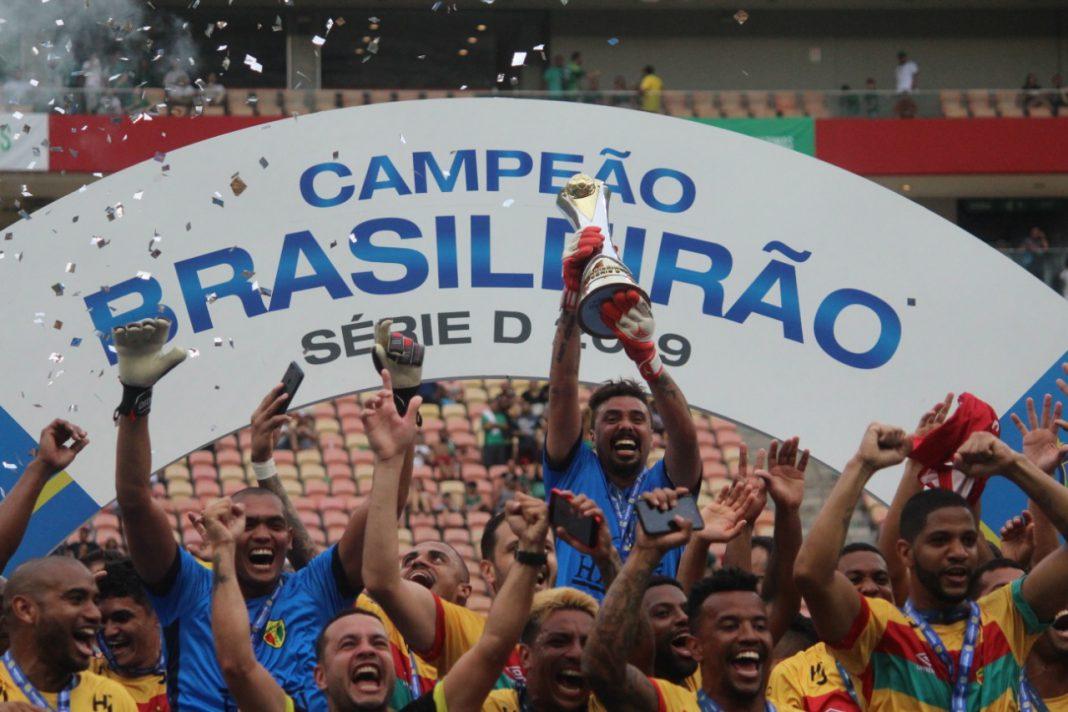 Brusque é campeão brasileiro da Série D
