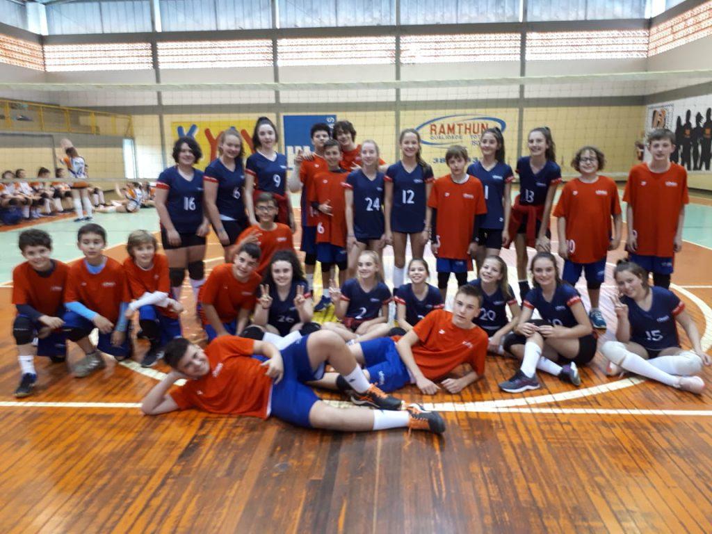 Equipes do Cônsul são campeãs na Olimpíada Sinodal de Educação (Foto: Divulgação)