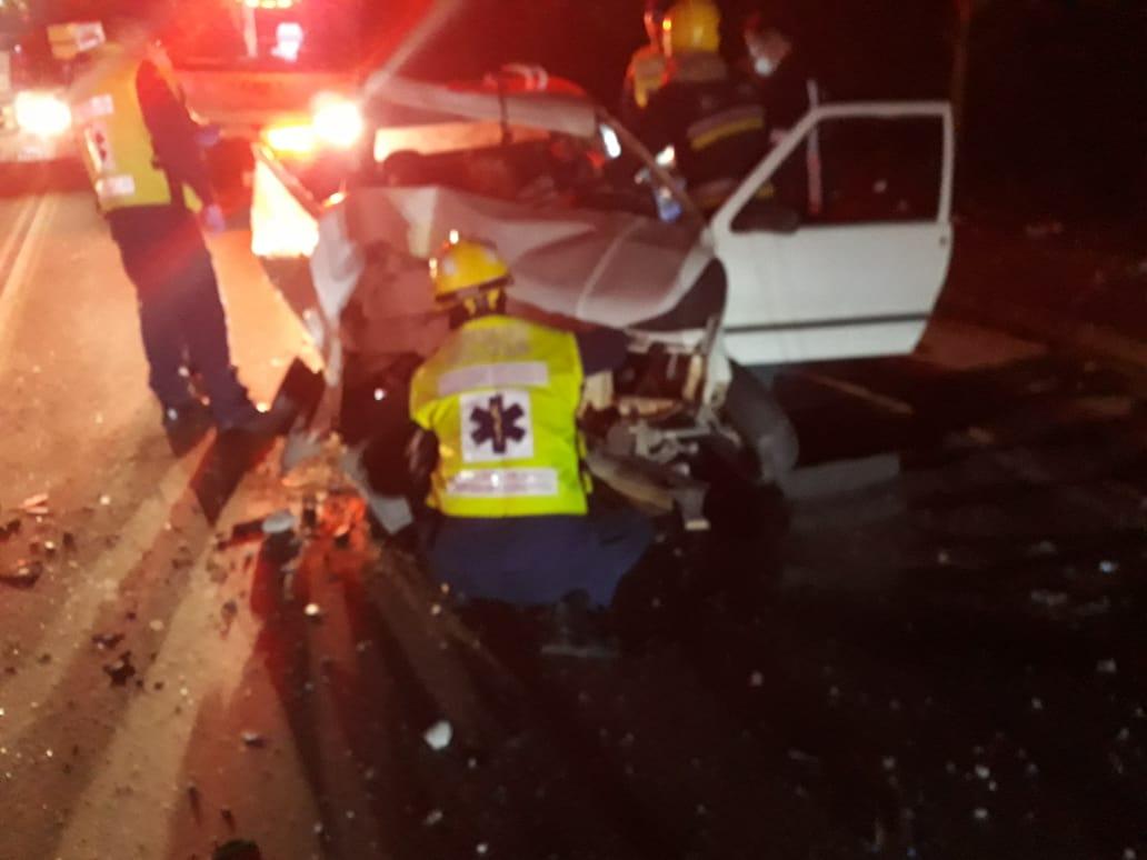 Homem morre após colisão na Rua Florianópolis; irmão da vítima ficou ferido