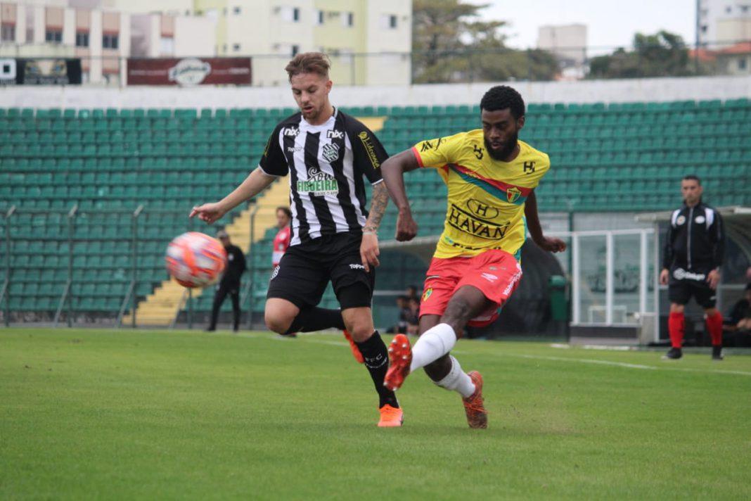 Brusque perde para o Figueirense pela 4ª rodada da Copa SC