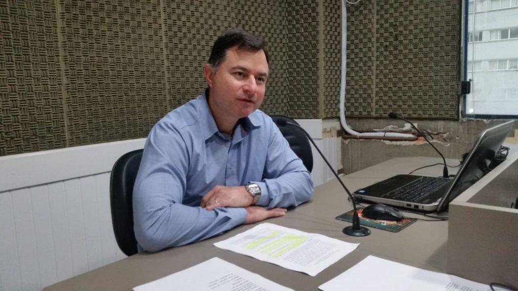 Michel Belli, diretor de eventos da Apae, no Jornal da Diplomata