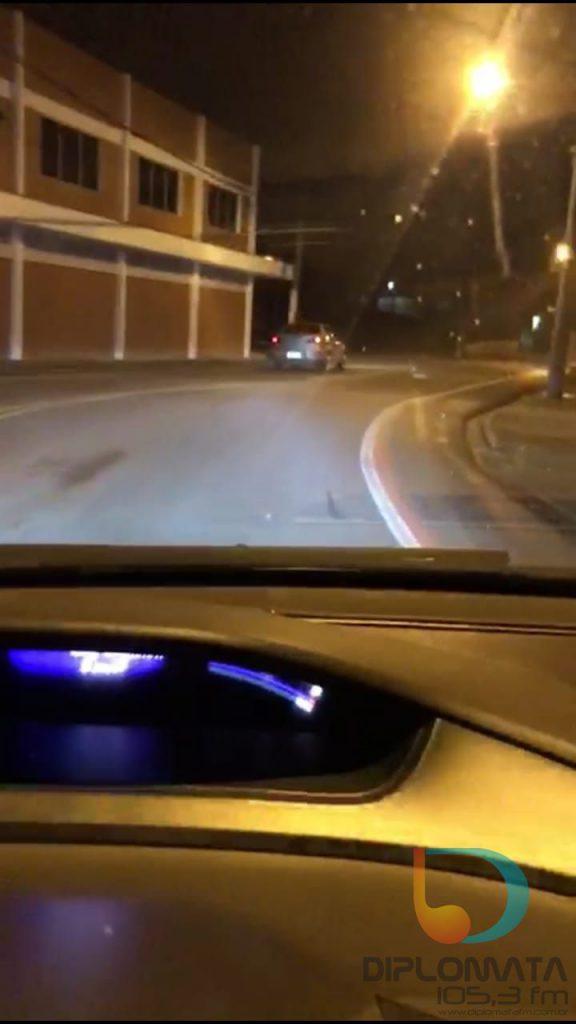Vídeo flagra motorista na Avenida Primeiro de Maio