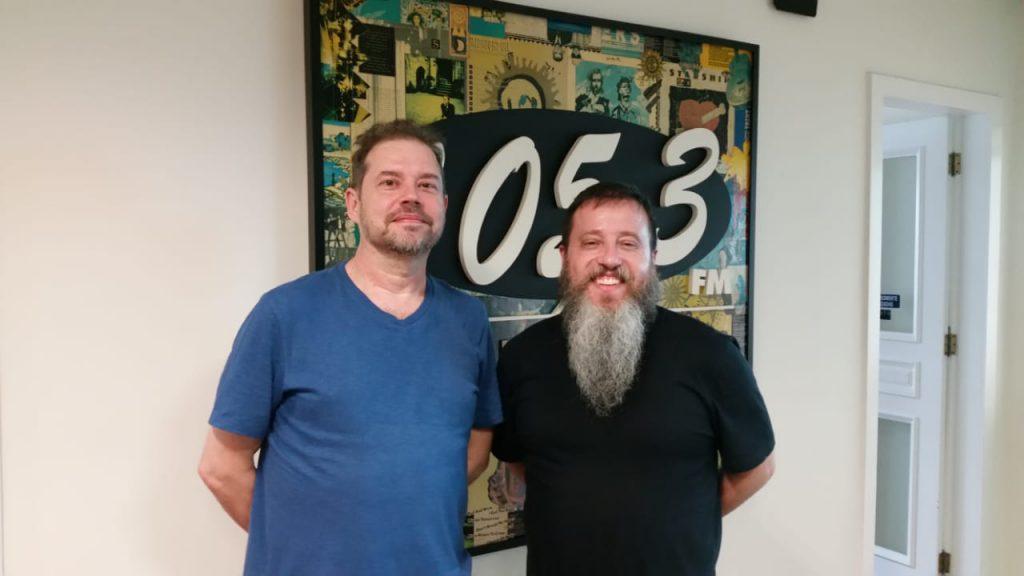 Arquiteto Jorge Bonamente e o publicitário Oli Rodrigues