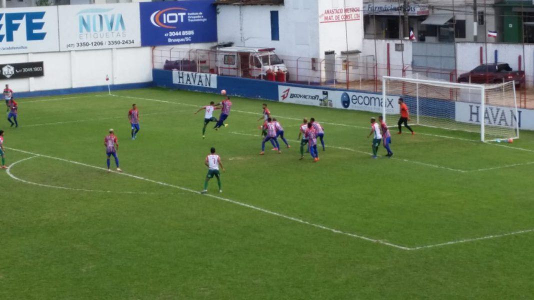 Série C: Carlos Renaux fica no empate sem gols com o Curitibanos