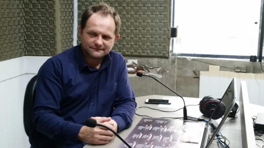 Diretor-Geral da Secretaria Municipal de Turismo, Sidnei Dematé