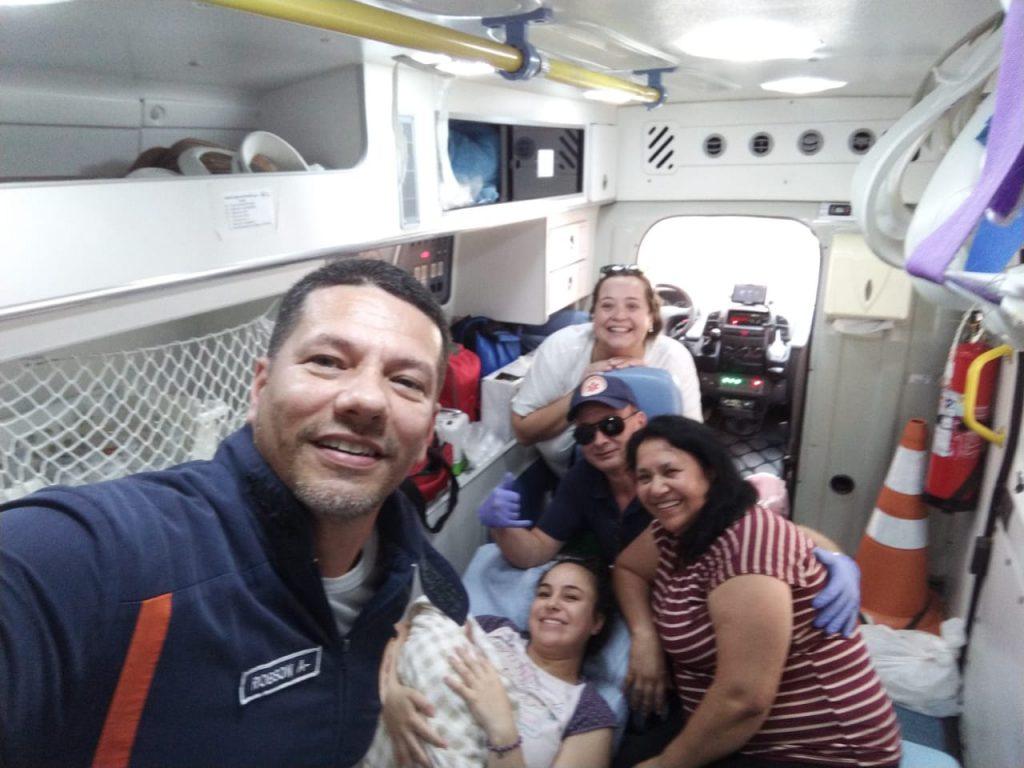Bebê nasce em casa no bairro São Pedro; Samu prestou auxílio