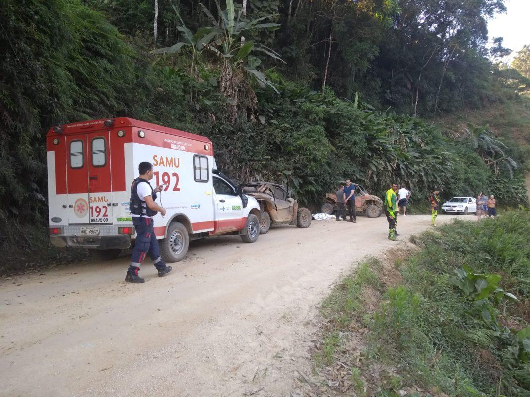 Acidente mata trilheiro conhecido em Nova Trento