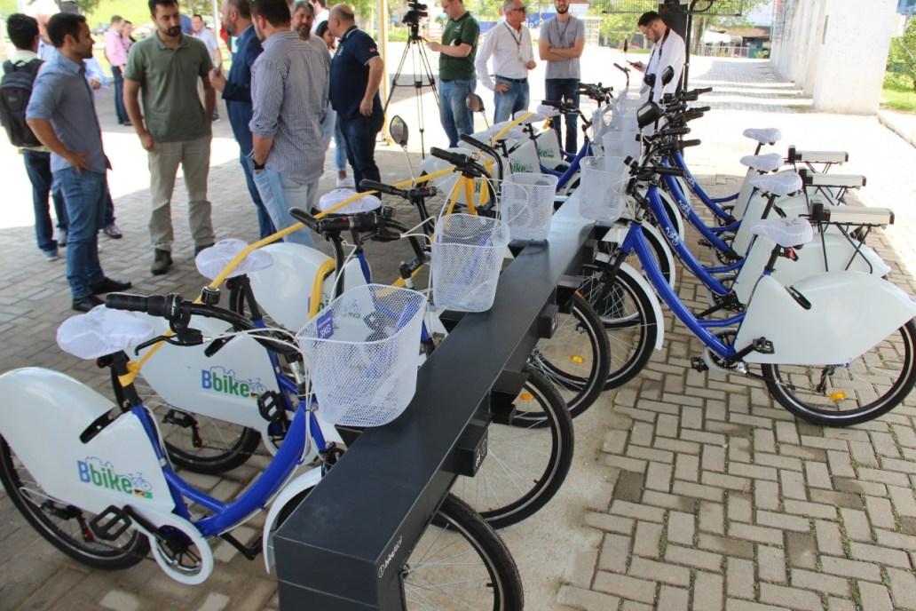Inaugurado sistema Bicicletas – Bbike e Estações Fotovoltaicas