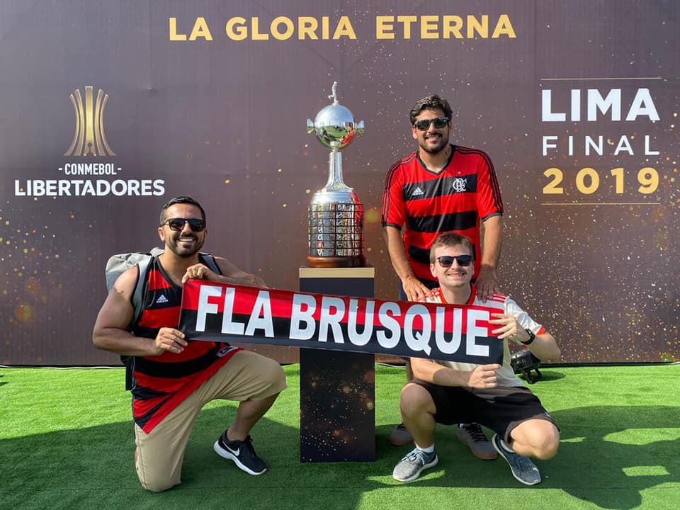 Fla Brusque monta programação especial com telão para final da Libertadores