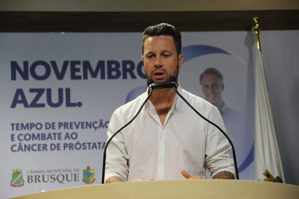 vereador André Rezini