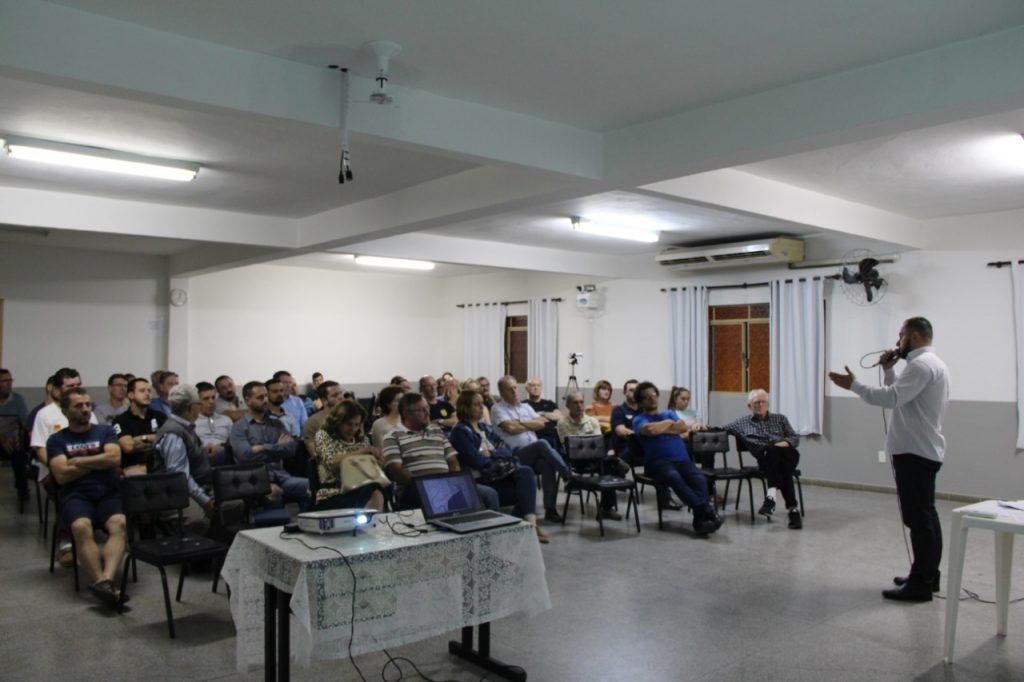 Reunião da Amasc na na Capela Nossa Senhora de Fátima.