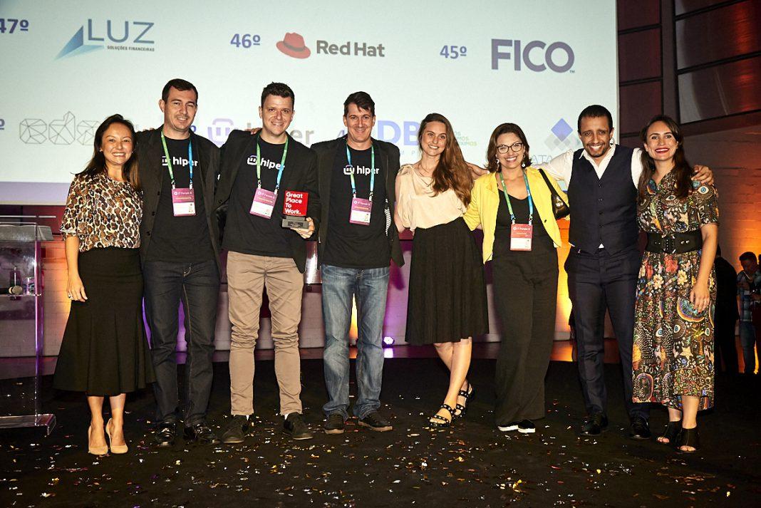 Hiper é premiada em ranking nacional no setor de tecnologia