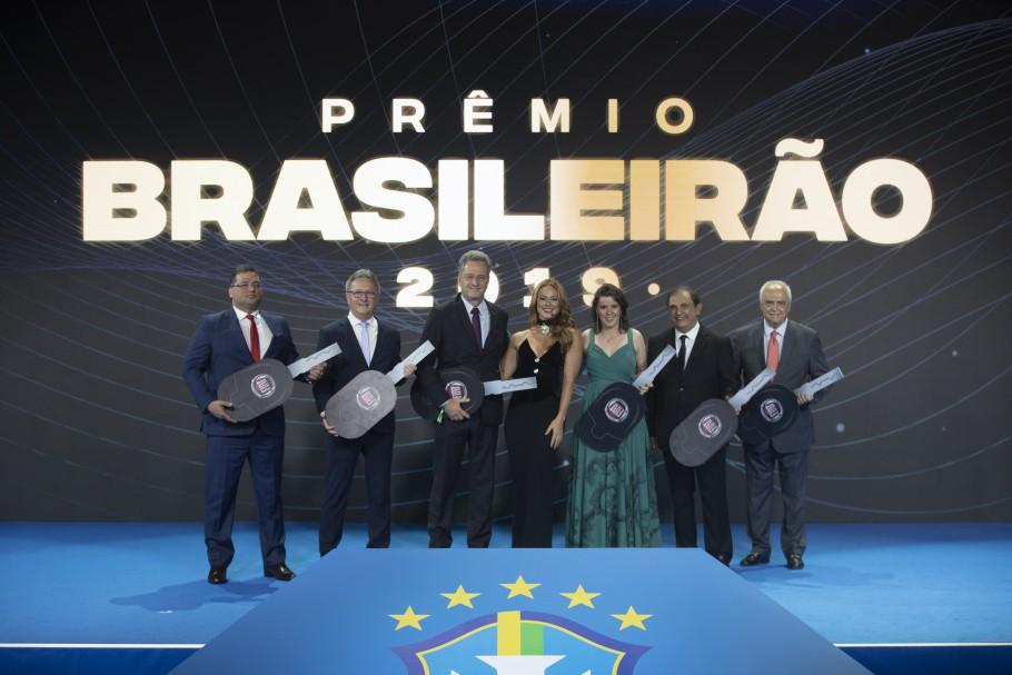 Noite histórica: Brusque FC na cerimônia dos campeões do Brasileirão de 2019