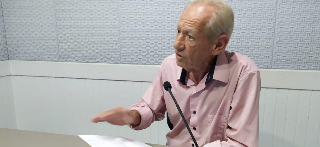 Presidente Zancanaro apresenta números do legislativo em 2019