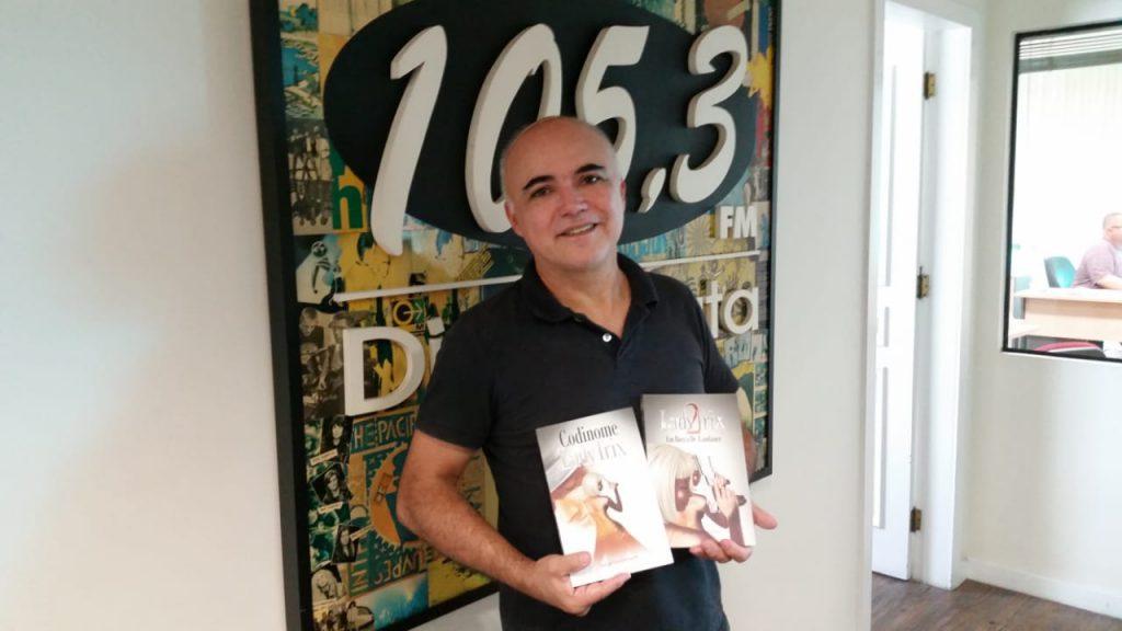 """Jorge Deichmann lançará neste sábado, 7, o livro """"Codinome Lady Trix""""; saiba mais"""