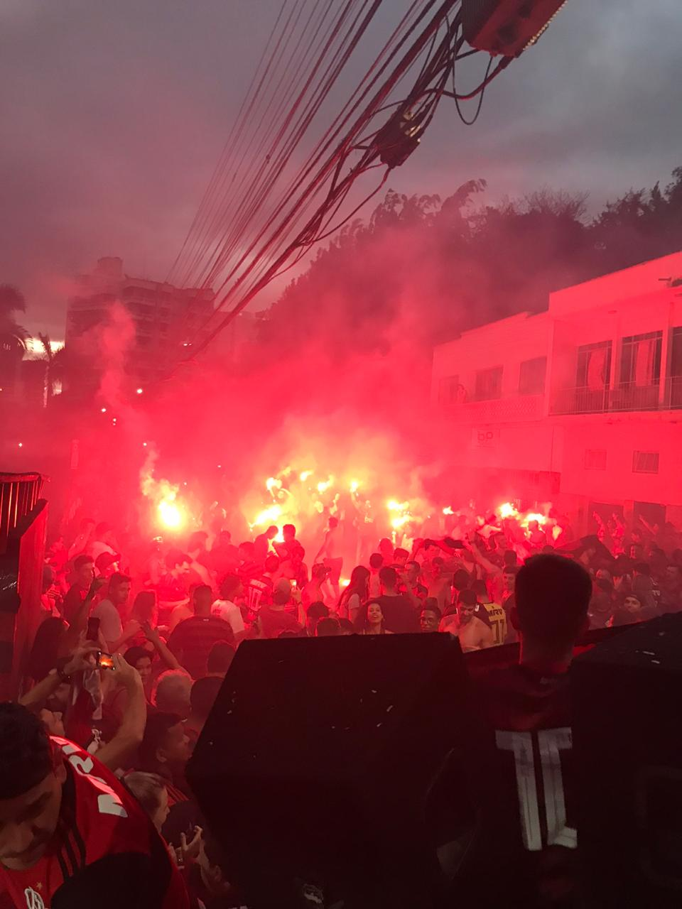 Fla Brusque será ponto de concentração dos rubro-negros na final do mundial