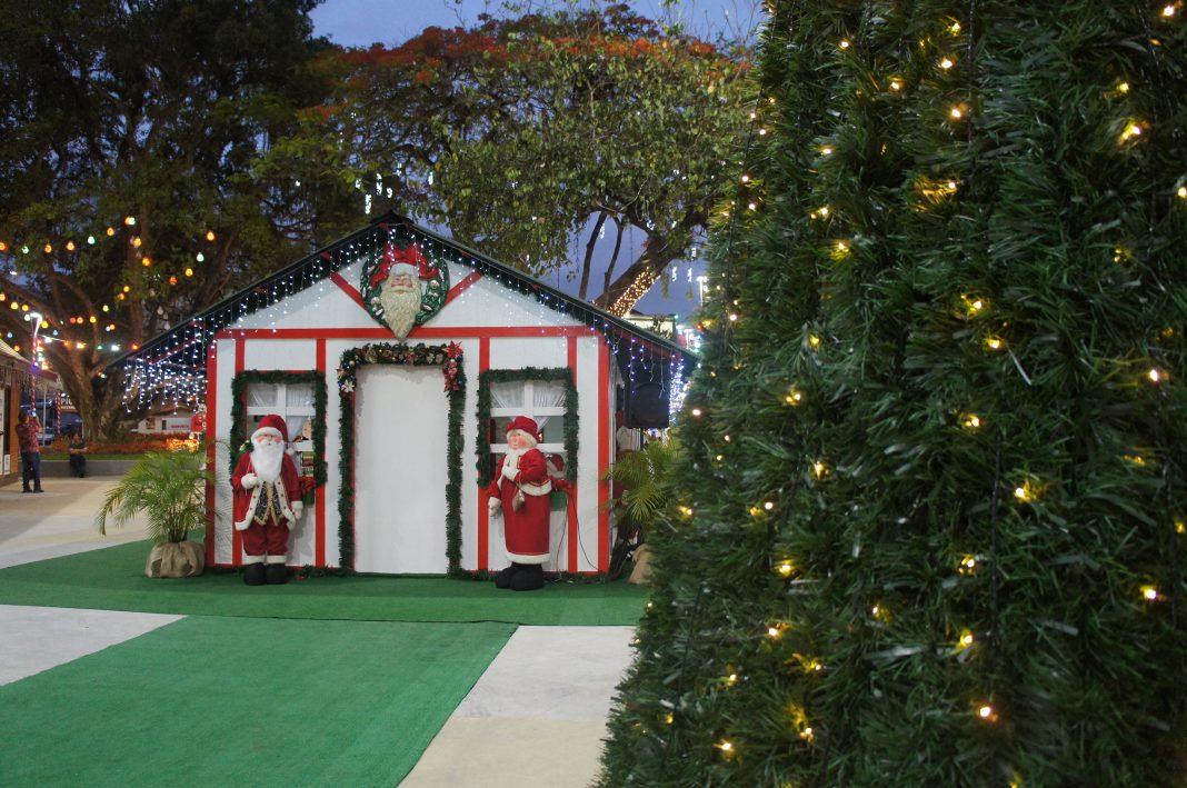 Casa do Papai Noel está reaberta para visitação