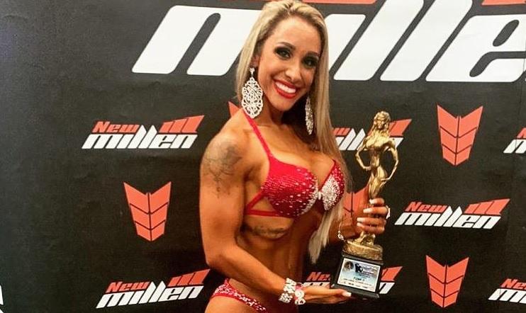 Jaine Hariane conquista título wellness no Paraná; fim de semana disputa o Sul Brasileiro