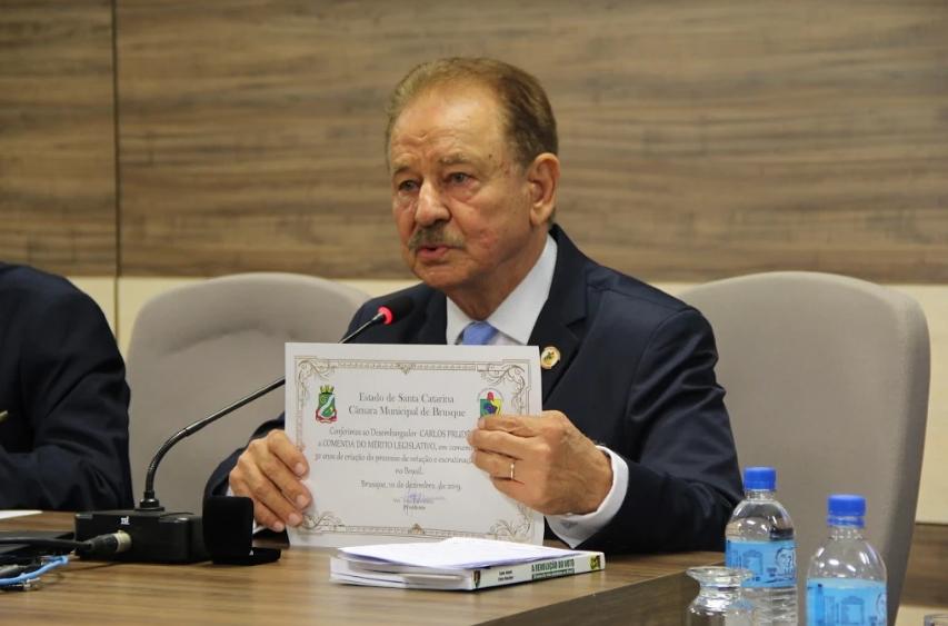 Ex-desembargador de justiça, Carlos Roberto Prudêncio