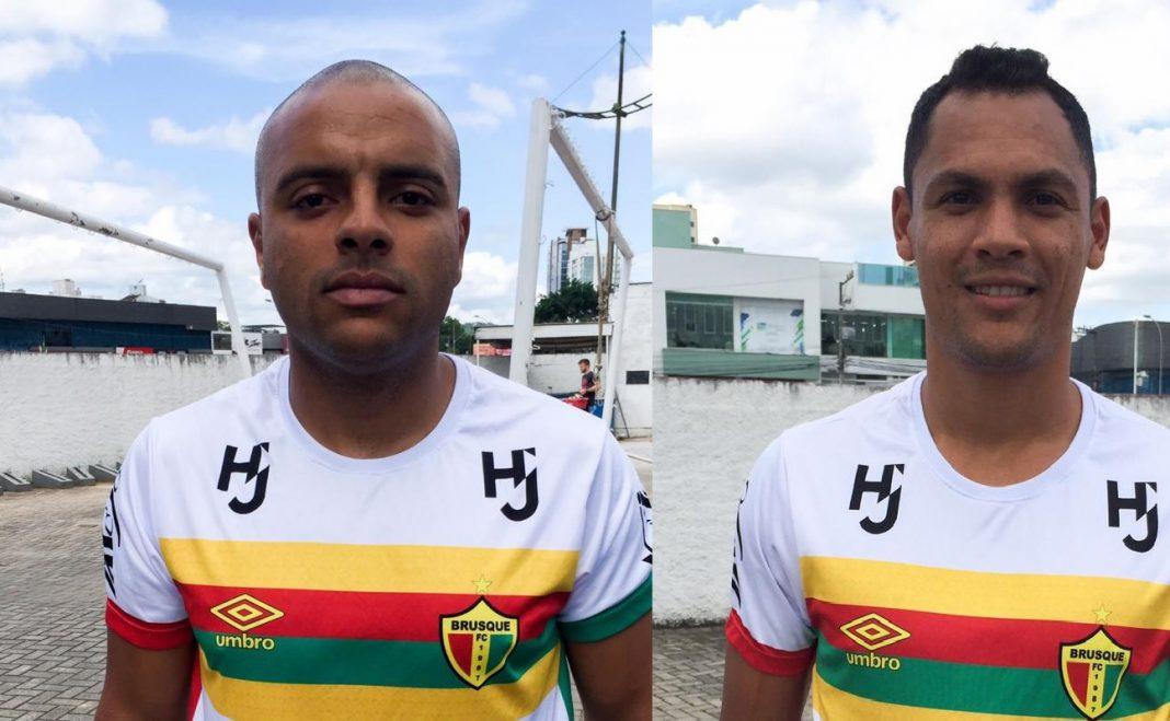 Ruan e Claudinho, são novos reforços do Brusque para 2020