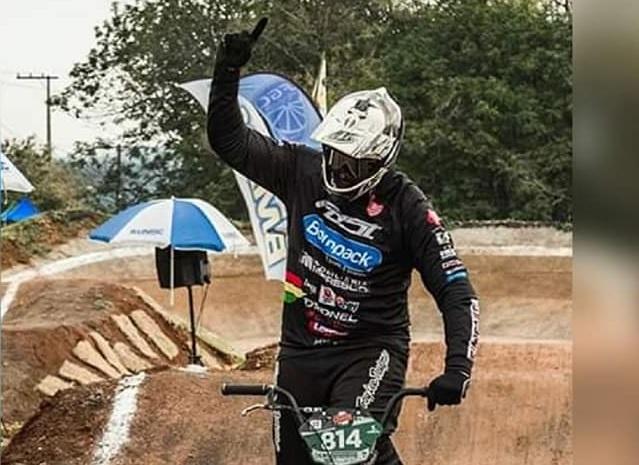 Ricardo Lana busca título Campeonato Gaúcho de BMX