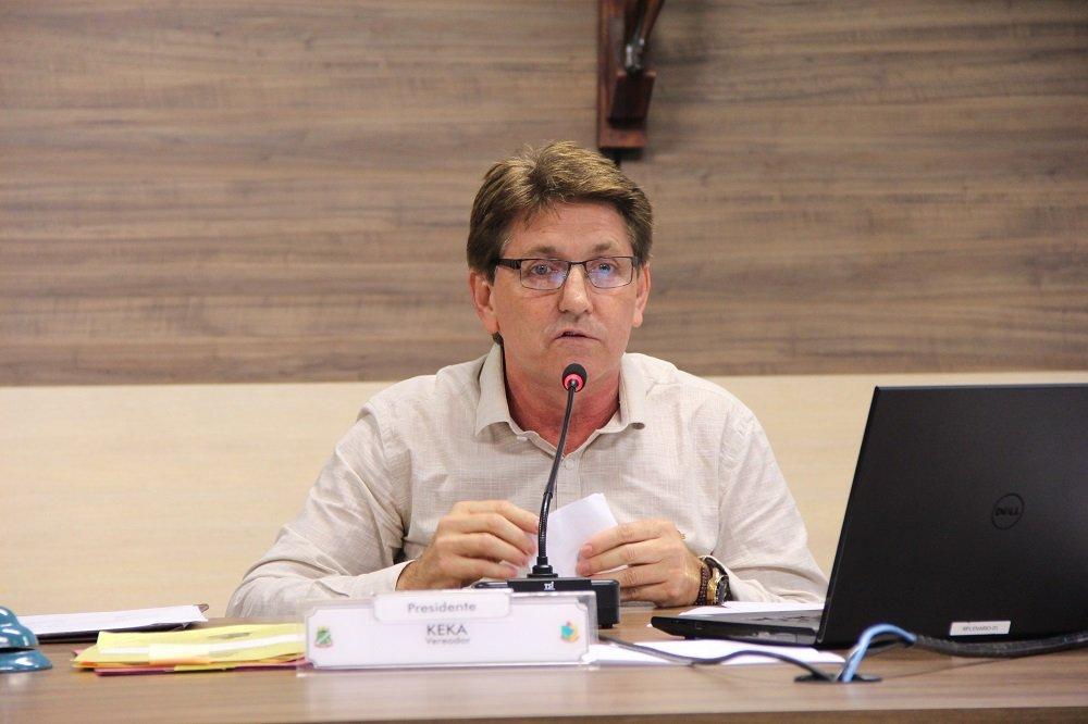 vereador Gerson Luís Morelli, o Keka