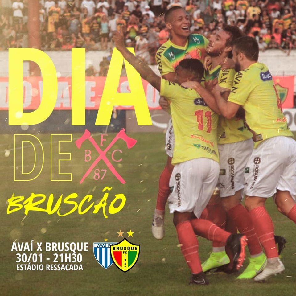 Brusque joga hoje contra o Avaí pelo catarinense, após título da Recopa na Ressacada