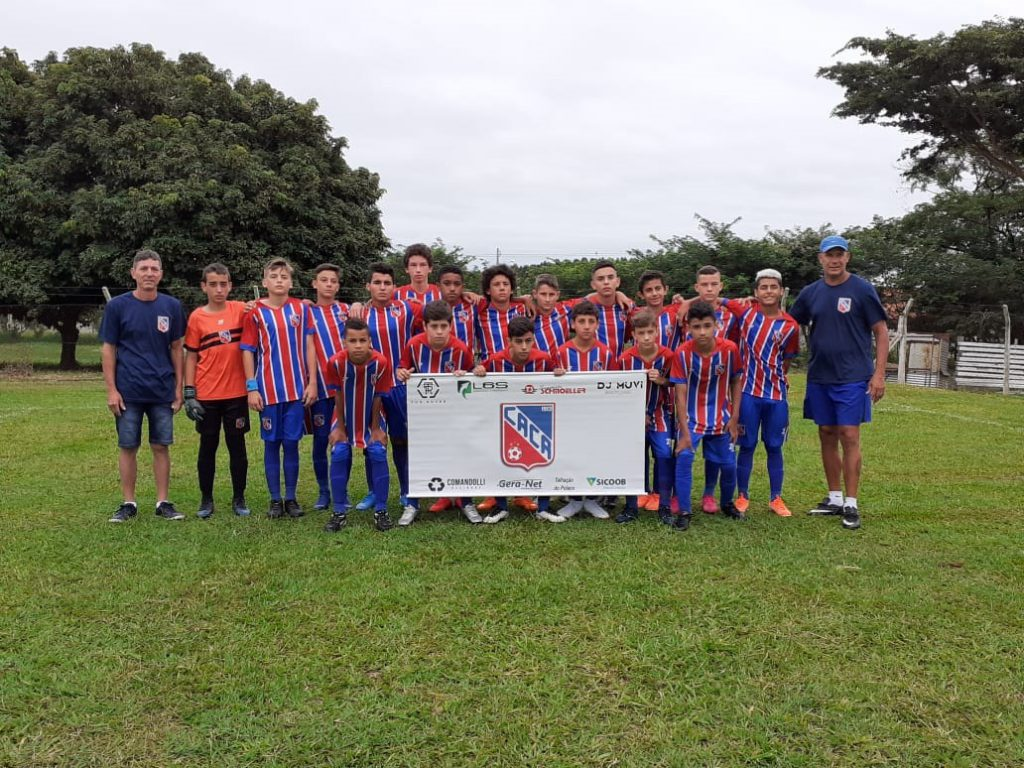 Equipe Sub 14 do Carlos Renaux na 11ª Copa Rancharia, SP.