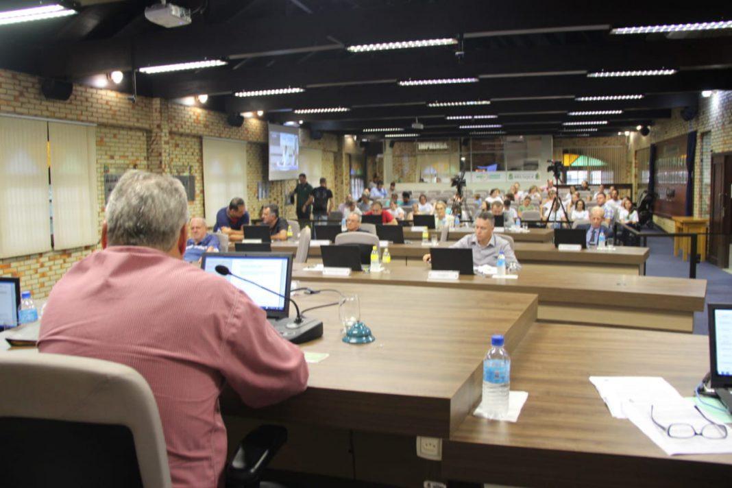 Vereadores repercutiram problemas da chuva em Brusque, na sessão desta terça-feira, 11.