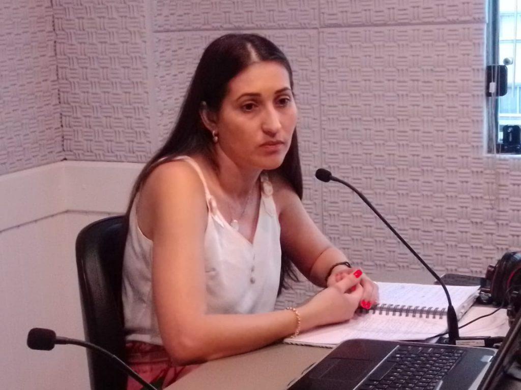 Alicia Fagundes, diretora da Vigilância em Saúde