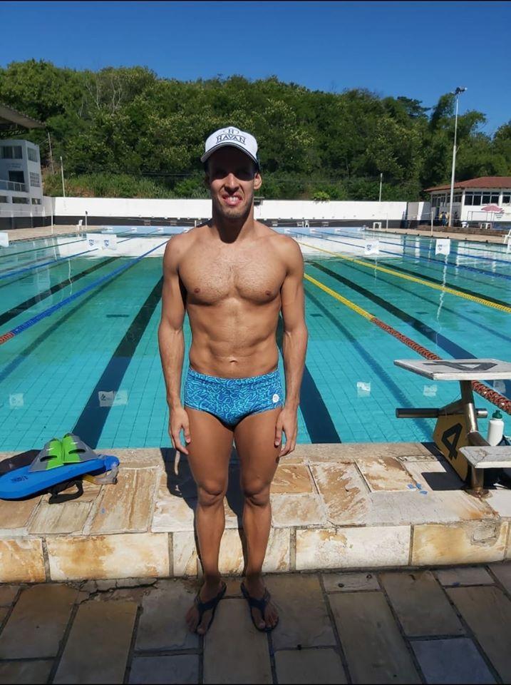 nadador brusquense Matheus Rheine iniciou 2020 com grande foco para os Jogos Paraolímpicos de Tóquio